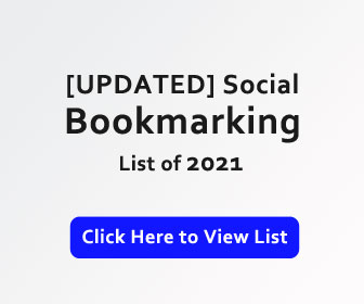 bookmarking sites list banner
